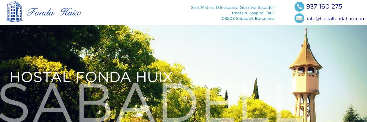 Hostal Fonda Huix Sabadell